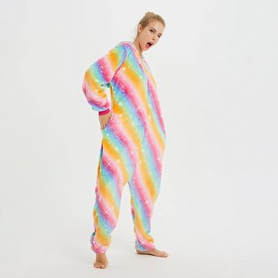 Cute Pyjamas for Women Unicorn Onesies, Rainbow_10