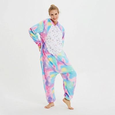 Cute Animal Pyjamas for Women Rainbow Hoodie Onesies_7