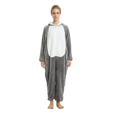 Adorable Adult Pyjamas for Women MashiMaro Onesie, Grey_18