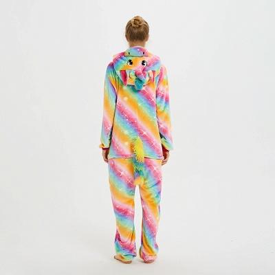 Cute Pyjamas for Women Unicorn Onesies, Rainbow_2
