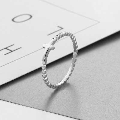 Chic Alloy Plated Rings for Bride_6