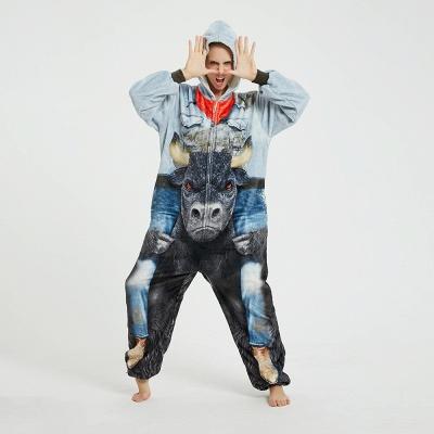 Cute Animal Pyjamas Hoodie Onesies for Women_11