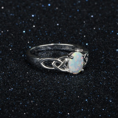 Chic Sterling Silver Ring Jewelry_6