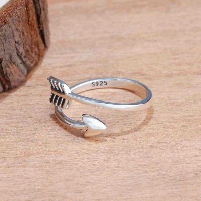 Sterling Silver Ring Jewelry For Ladies_7