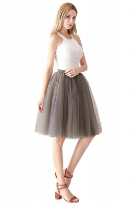 Jewel Sleevelss Knee Length A-line Cute Short Party Dresses_85