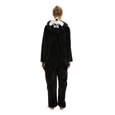Cute Pyjamas for Women Huskie Onesies, Dark_18