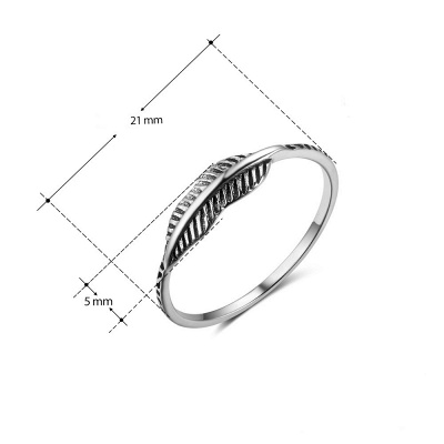 Stylish Alloy Plated Rings_3