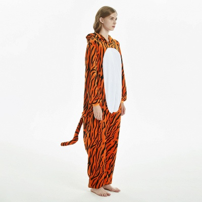 Lovely Adult Tiger Onesies Pajamas for Women_4