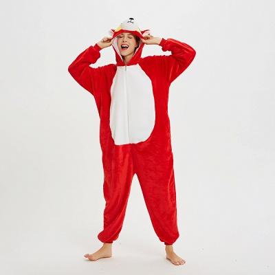 Lovely Pajamas Sleepwear for Women Hoodie Onesies_13