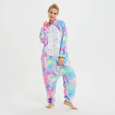 Cute Animal Pyjamas for Women Rainbow Hoodie Onesies_5