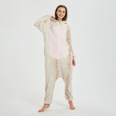 Adorable Adult Pyjamas for Women Deer Onesies_11