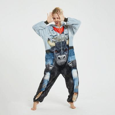 Cute Animal Pyjamas Hoodie Onesies for Women_7