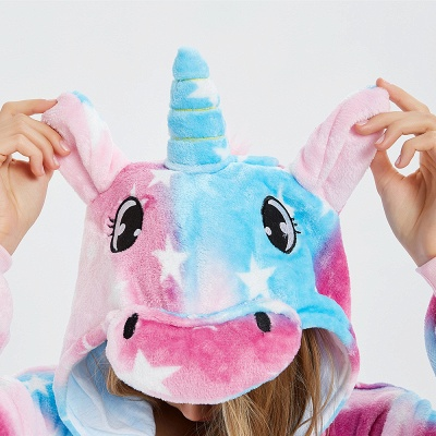 Lovely Pyjamas Sleepwear for Women Unicorn Onesies_11