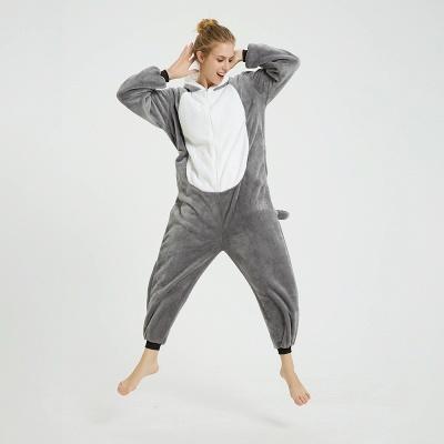 Adorable Adult Pyjamas for Women MashiMaro Onesie, Grey_15