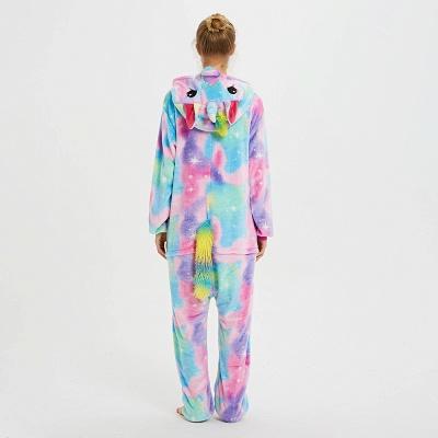Cute Animal Pyjamas for Women Rainbow Hoodie Onesies_6