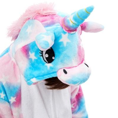 Lovely Pajamas Sleepwear for Kids Unicorn Hoodie Onesies_6