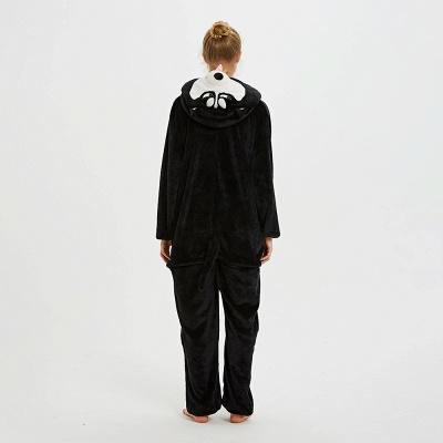 Cute Pyjamas for Women Huskie Onesies, Dark_3