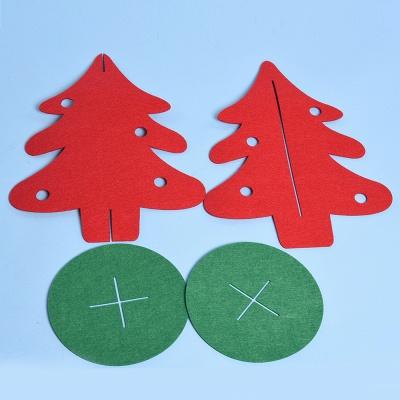 Christmas Decoration, Textile Christmas Tree_5