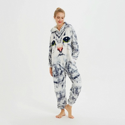 Cute Hoodie Onesies Pyjamas for Women_16