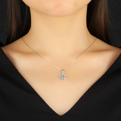 Personalized Alloy Plated Necklace Jewelry_4