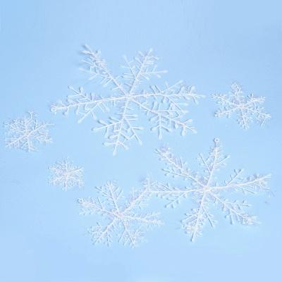 Christmas Decoration, Xmas Snow, Set of 6_1