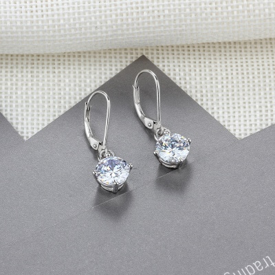 Personalized Alloy Plated Earrings Jewelry_6