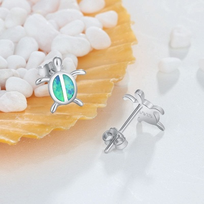 Personalized Sterling 925 Silver Earrings Jewelry_5