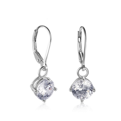 Personalized Alloy Plated Earrings Jewelry