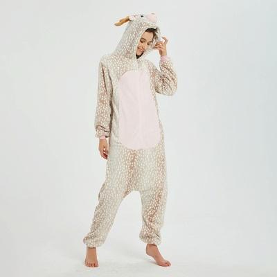 Adorable Adult Pyjamas for Women Deer Onesies_9