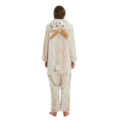 Adorable Adult Pyjamas for Women Deer Onesies_17