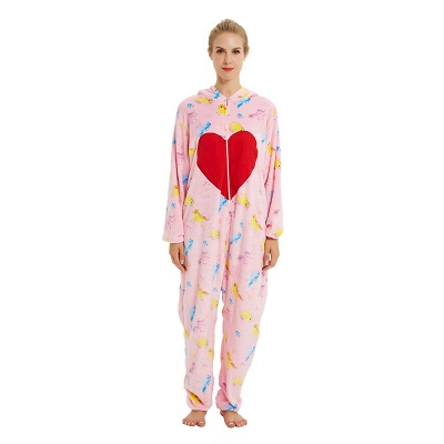 Cute Pyjamas for Women Unicorn Onesies, Pink_22