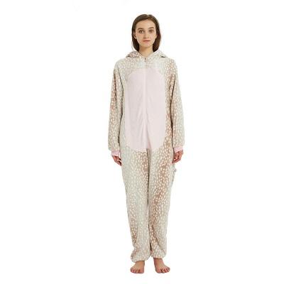 Adorable Adult Pyjamas for Women Deer Onesies_18