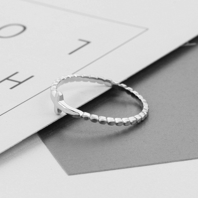Chic Alloy Plated Rings for Bride_7