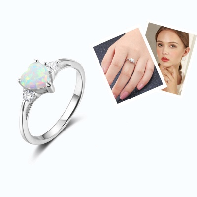 Sterling Silver Ring Jewelry For Women_8