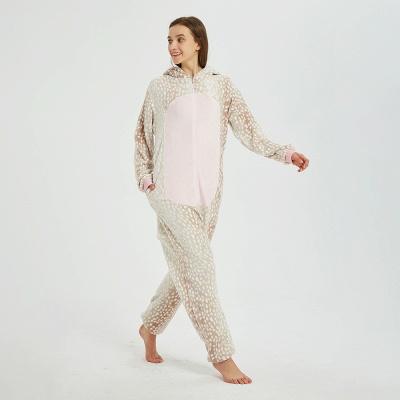 Adorable Adult Pyjamas for Women Deer Onesies_4