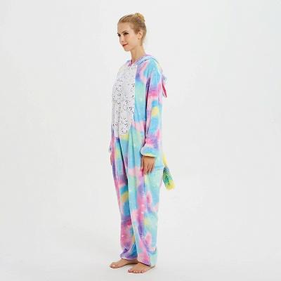 Cute Animal Pyjamas for Women Rainbow Hoodie Onesies_19