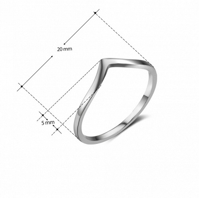 Sterling Silver Ring Jewelry For Fashion Girl_7