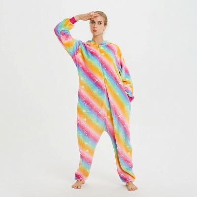 Cute Pyjamas for Women Unicorn Onesies, Rainbow_11