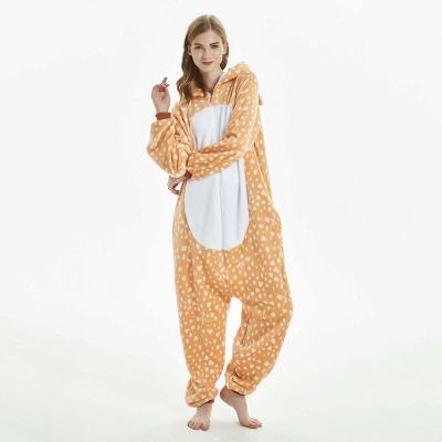 Cute Adult Deer Onesies Pajamas for Women_9