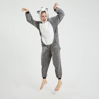 Adorable Adult Pyjamas for Women MashiMaro Onesie, Grey_16