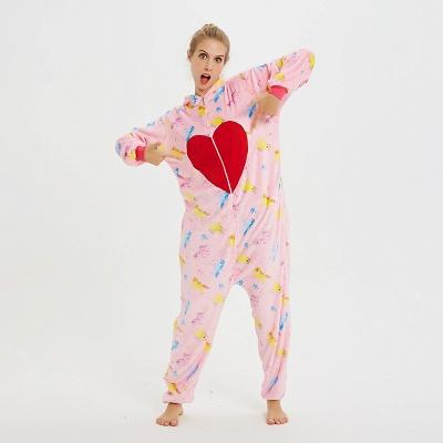 Cute Pyjamas for Women Unicorn Onesies, Pink_15