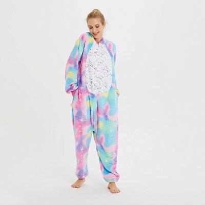 Cute Animal Pyjamas for Women Rainbow Hoodie Onesies_20