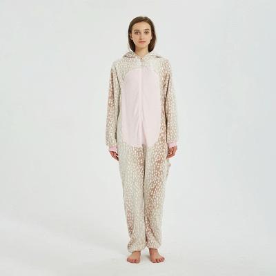 Adorable Adult Pyjamas for Women Deer Onesies_1