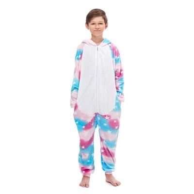 Lovely Pajamas Sleepwear for Kids Unicorn Hoodie Onesies_4