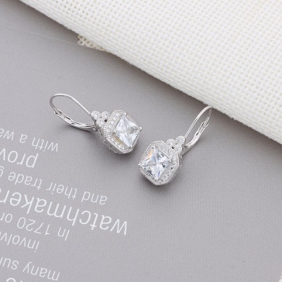 Chic Alloy Plated Earrings Jewelry for Ladies_8
