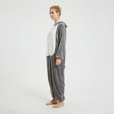 Adorable Adult Pyjamas for Women MashiMaro Onesie, Grey_17