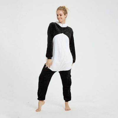Cute Hoodie Pyjamas for Women Panda Onesies_4