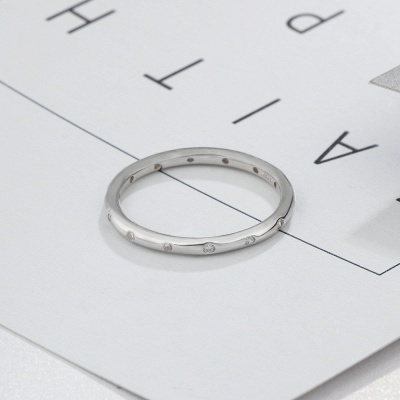 Elegant Alloy Plated Rings for Ladies_4