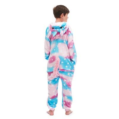 Lovely Pajamas Sleepwear for Kids Unicorn Hoodie Onesies_3