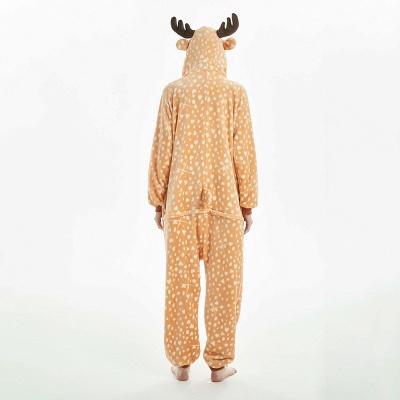 Cute Adult Deer Onesies Pajamas for Women_2